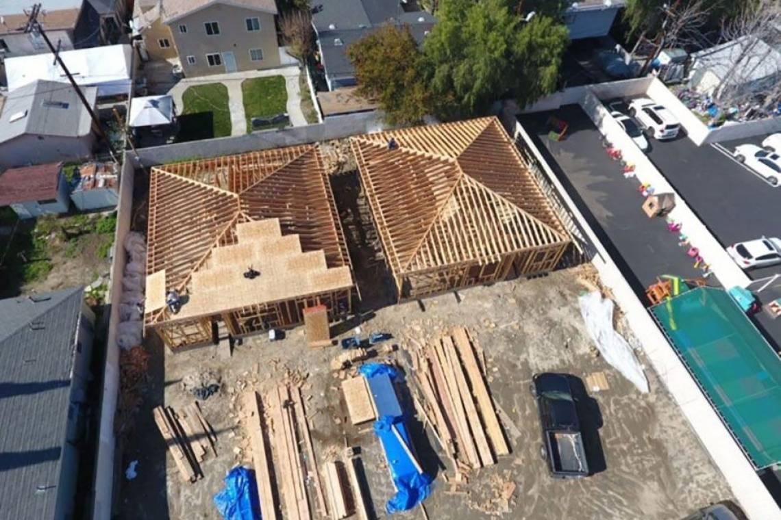 Design and build 4plex units - 4